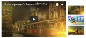 Video  A year in pictures Summer 2017-2018