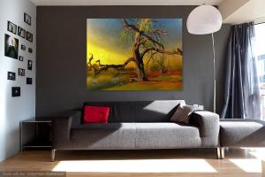 Visualisations. my artwork in the home